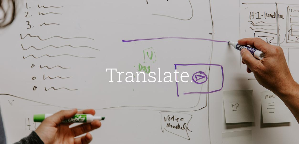 Translate - For Innovators